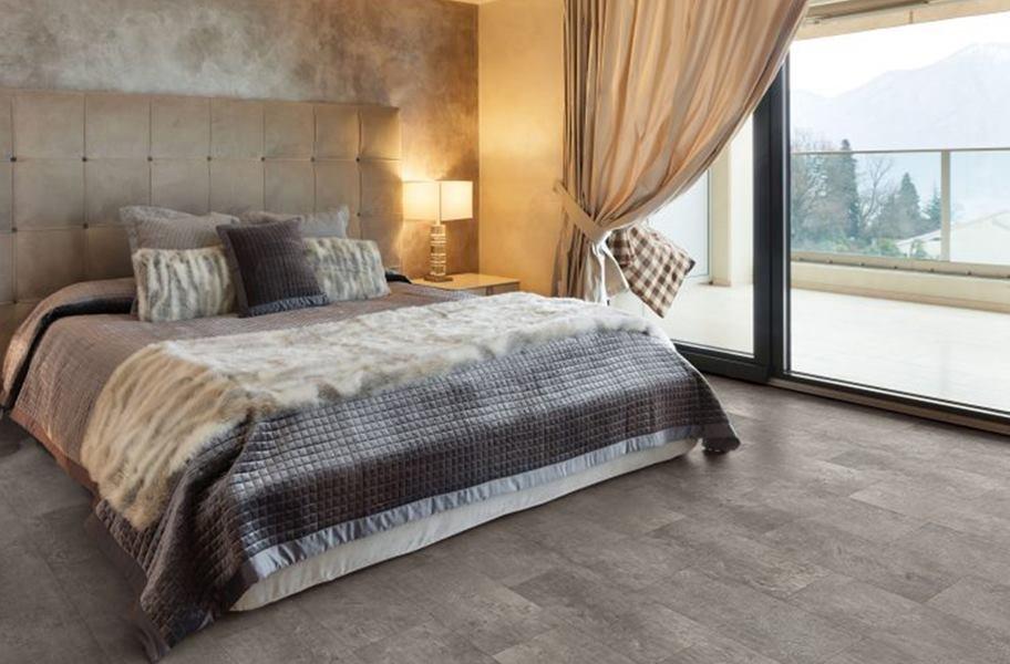 Vinyl Bedroom Flooring: COREtec Plus Enhanced Waterproof Tiles