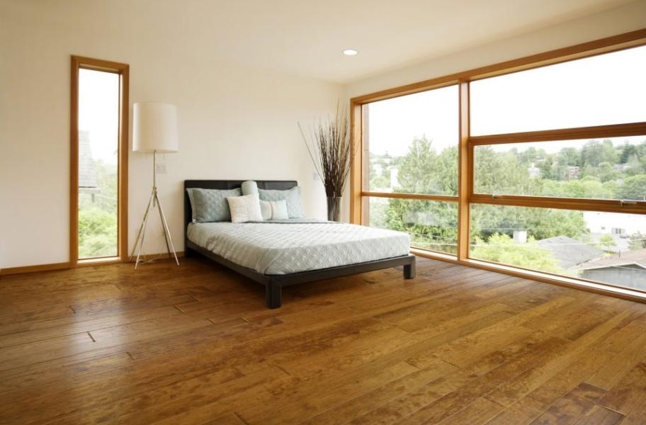 The Modern Bedroom: Wilderness Birch Engineered Hardwood