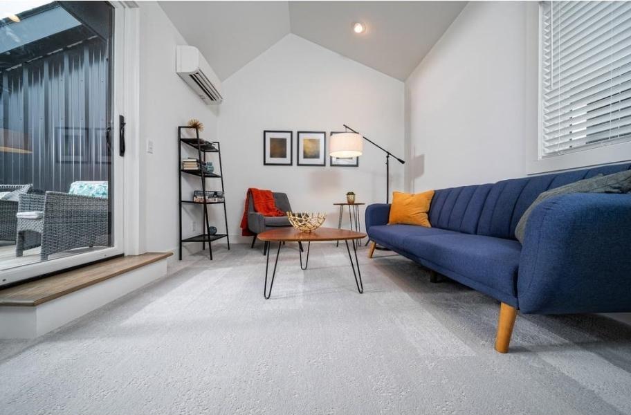 Neutral Carpet: Shaw Floorigami Tambre Carpet Planks
